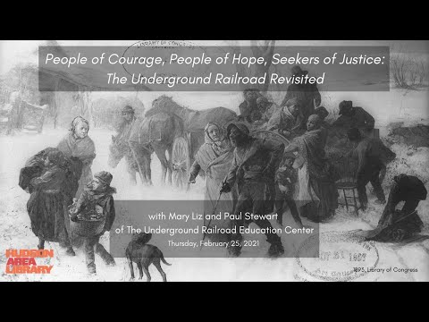Local History Talk: People of Courage, People of Hope, Seekers of Justice