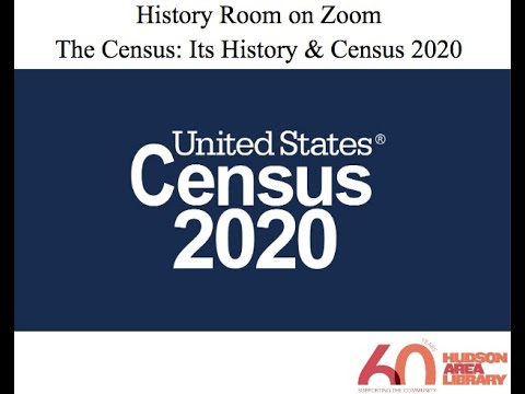 History Room on Zoom: Early NY Census History to Census 2020