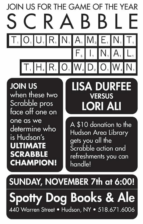 Scrabble Tournament Finals
