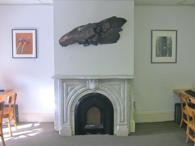 3 new artworks in computer room by Sarah Sterling, Linda Cross & Paul Hamman