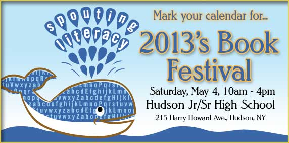 hudson children's book festival logo